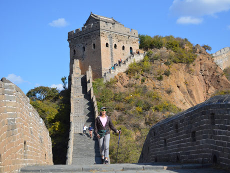 Hiking on the Jianshanling Great Wall