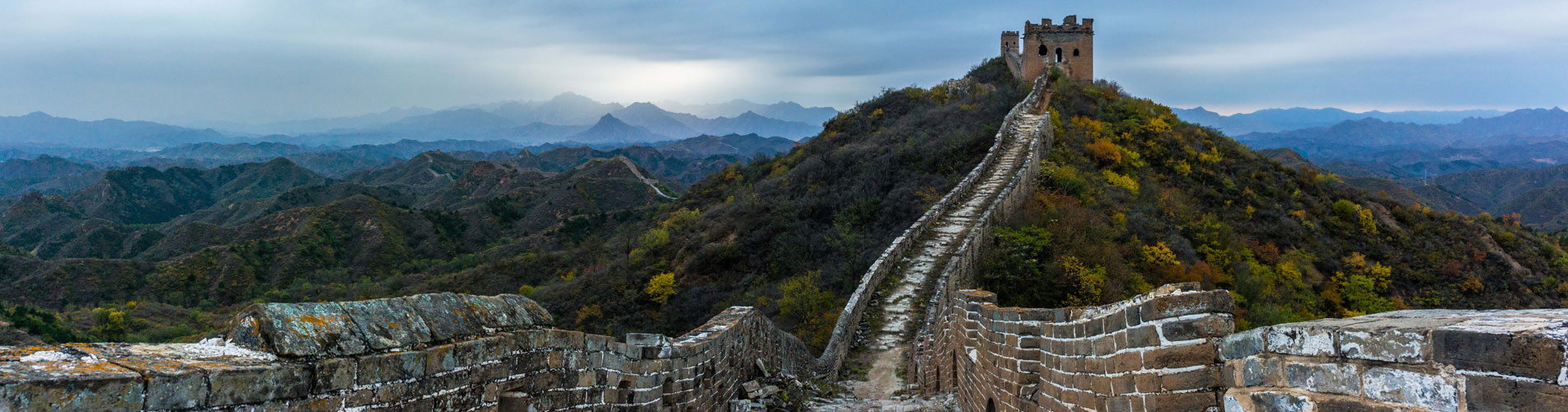 Hiking the ruined Jiankou Great Wall