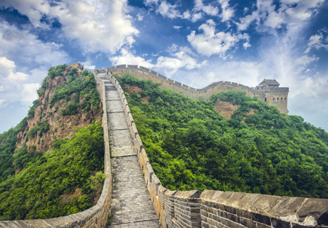 Hiking the wild Great Wall