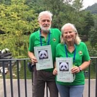 Assister à un documentaire sur le cycle de vie des pandas