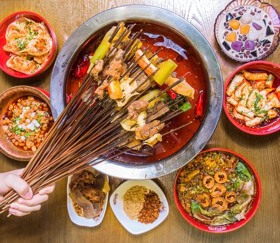enjoy the sichun food