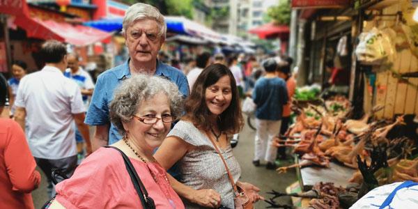 Chengdu local market