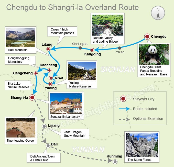 A 10-day trip from Chengdu to Shangri-la