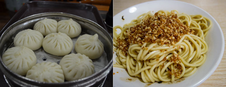 Dumplings and Noodle
