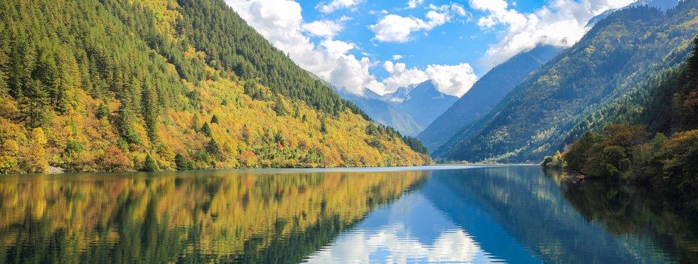 Jiuzhaigou Scenery