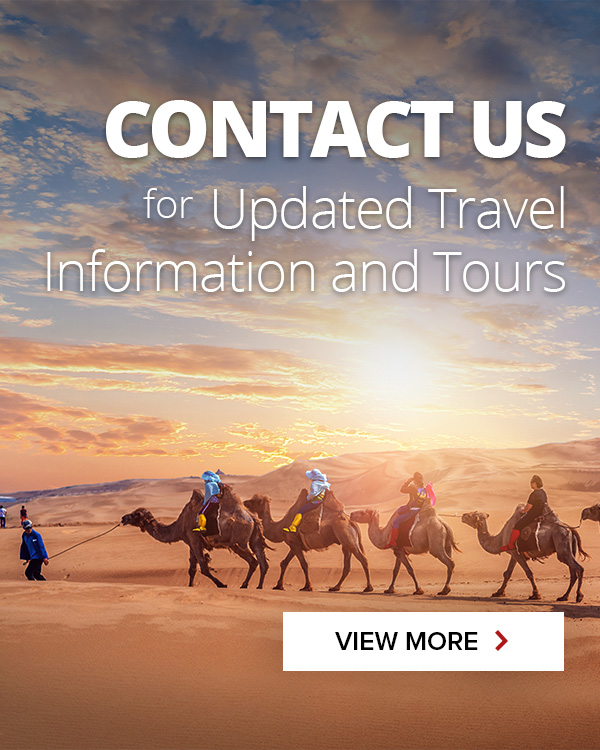Contact us for updated travel information