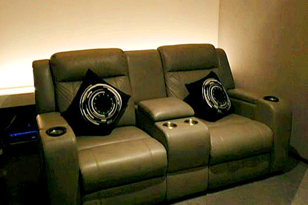 private movie theater for couples