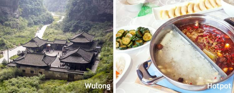 Wulong and hotpot