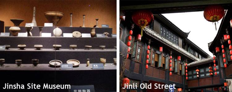 Jinsha Site Museum and Jinli Old Street