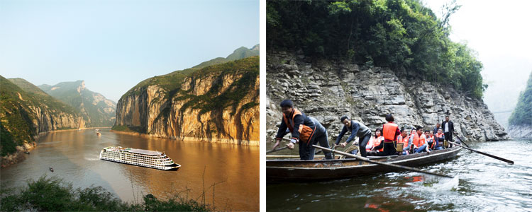 The Qutang Gorge and Shennong Stream