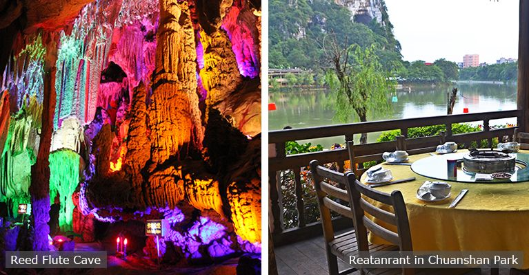 reed flute cave and riverside restaurant