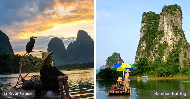 the li river cruise