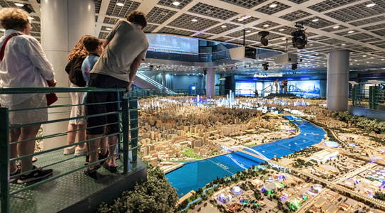 The Shanghai Urban Planning Exhibition Center