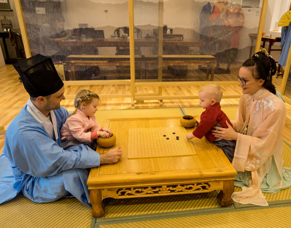 playing Chinese chess