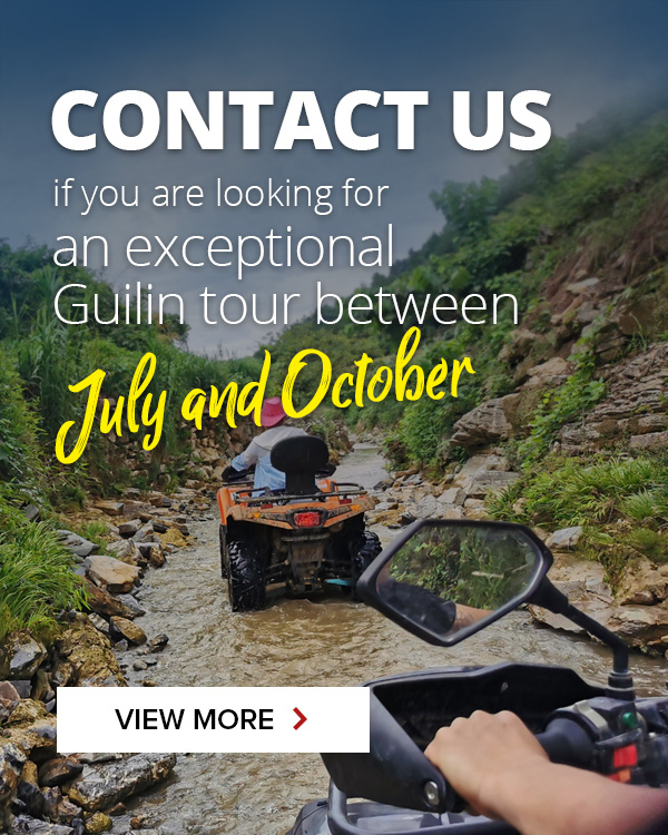 Summer and national day holiday in Guilin