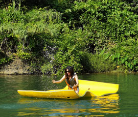 Have fun on a SUP