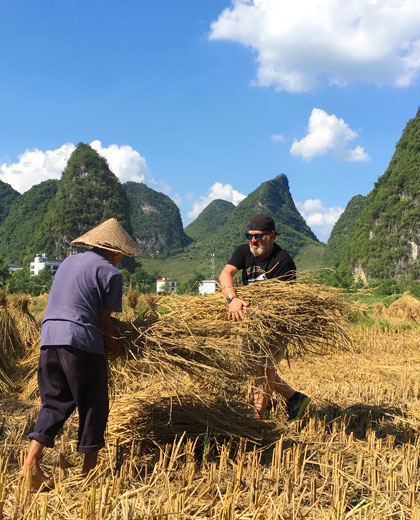 Be a Chinese Villager in Yangshuo