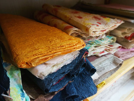 Various Kinds of Handmade Paper