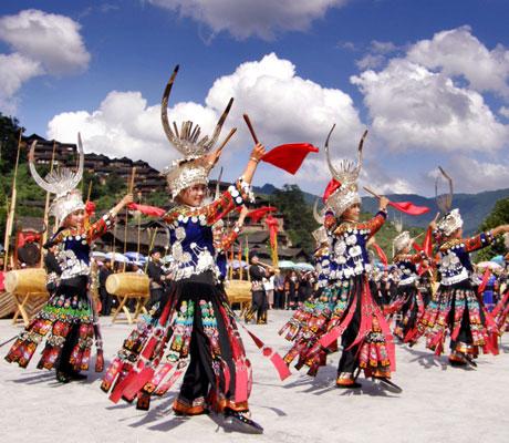 Guizhou minority clothing