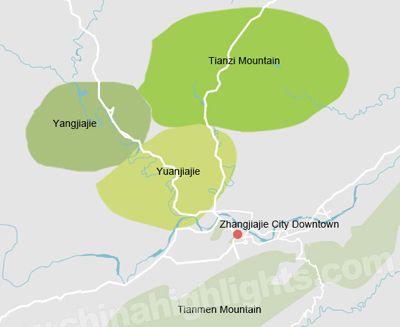 Map of Beijing-Xian-Shanghai