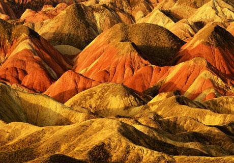 Zhangye Rainbow Mountains