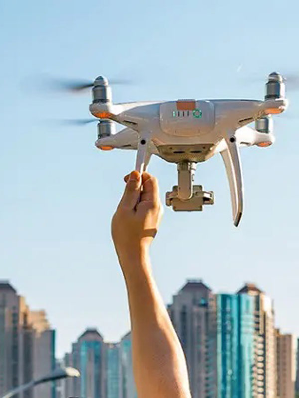 Fly a drone by yourself