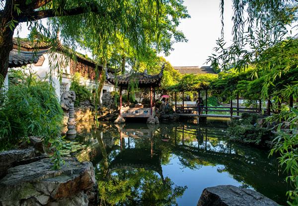 Lingering Garden in Suzhou