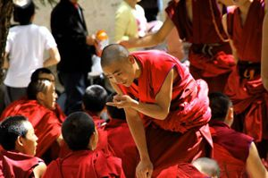 Sutra Debate at Sera Monastery