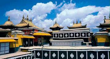 Tibetan Jokhang Temple