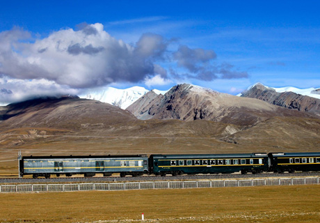 Tibet train travel