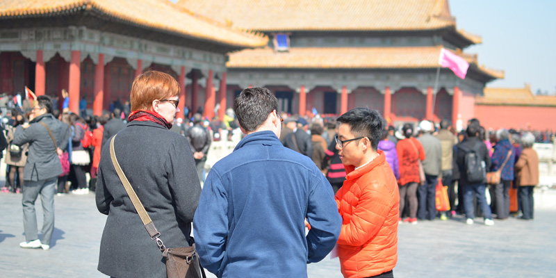 Expert Guide Show You Some Secrets of the Forbidden City