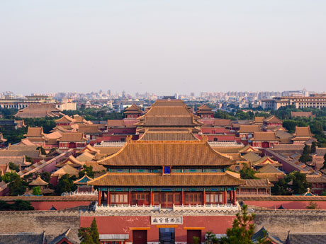 The Bird View of the Forbidden City
