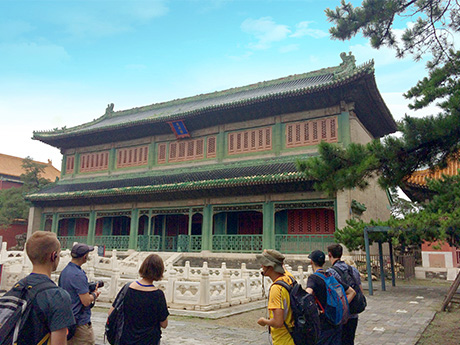 the Only One Hidden Green Building in the Forbidden City