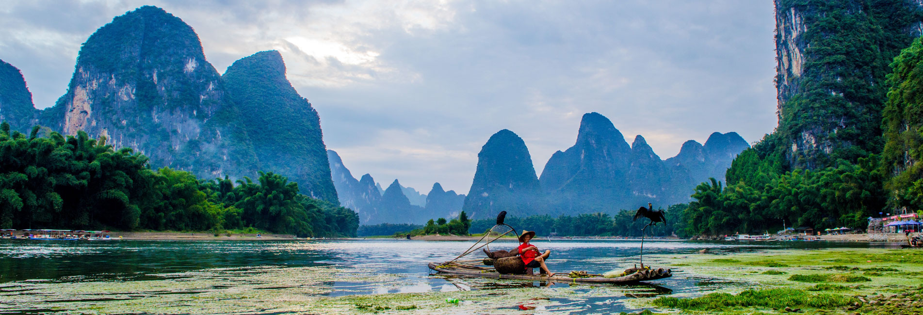 Countryside view in Guilin