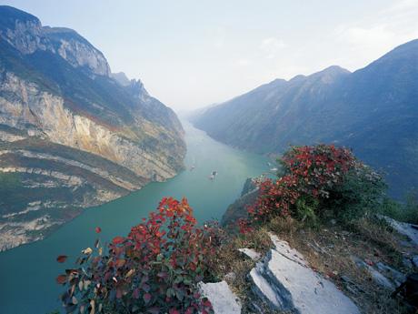 the Wu gorge