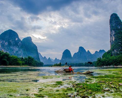 Guilin karst landscape