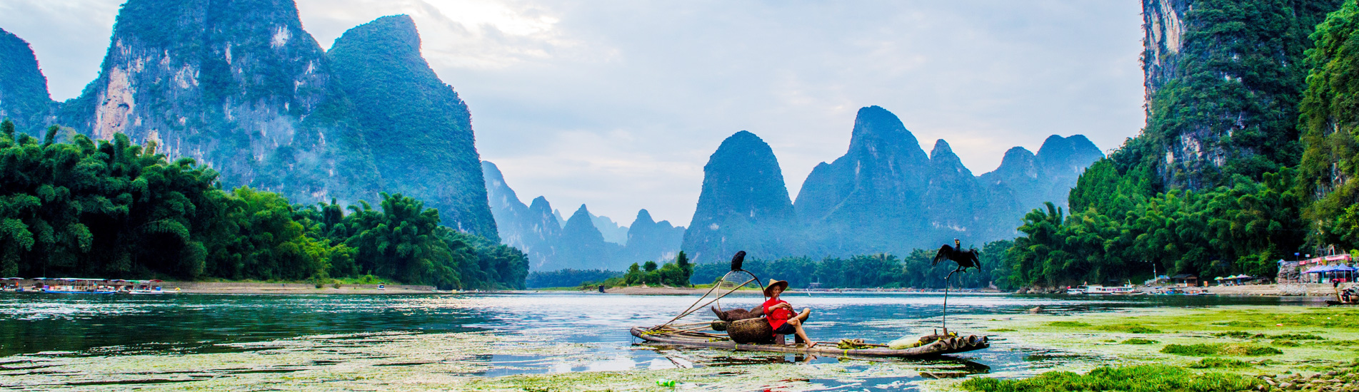 the Li River and the fisherman