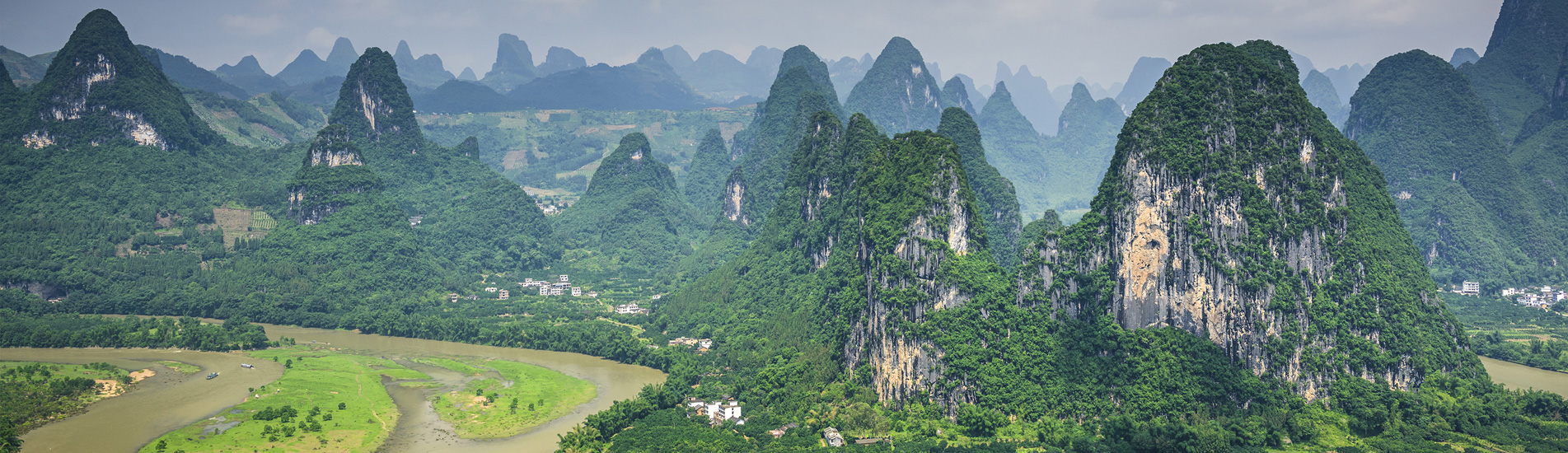 the karst landscape of Guilin