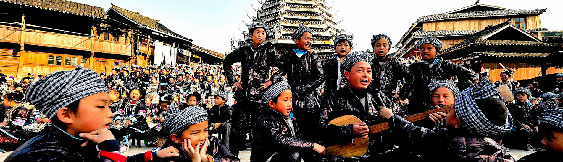the minority people in Guizhou Province