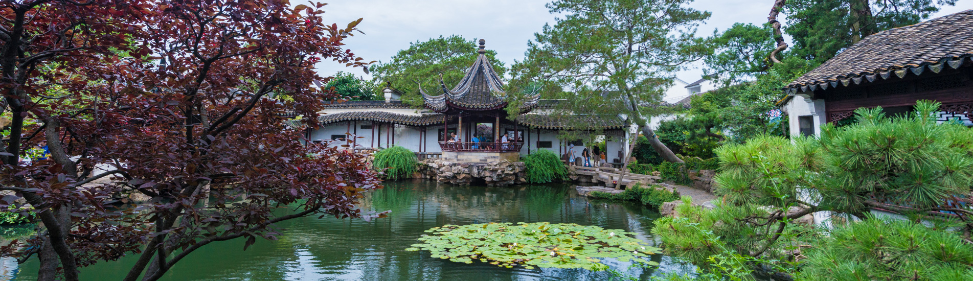 Chinese garden in Suzhou
