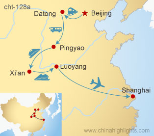 14 Days North China On Train Tour