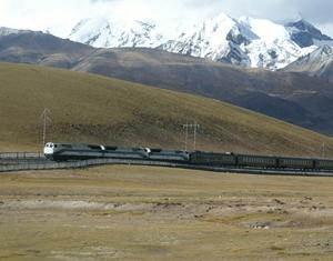 Scenery Along Tibet Railway