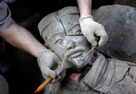 Get close to the Terracotta Army