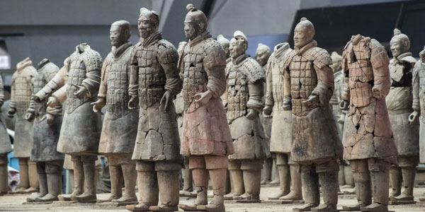 Discover secrets of the terracotta army