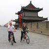biking on the Ancient City Wall