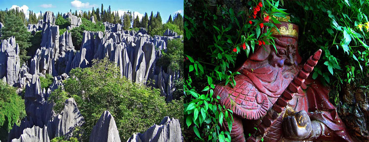 Stone Forest and Dragon Gate