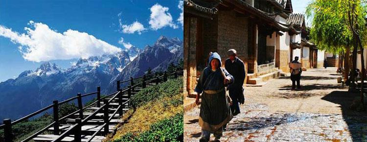 Jade Dragon Snow Mountain and Baisha