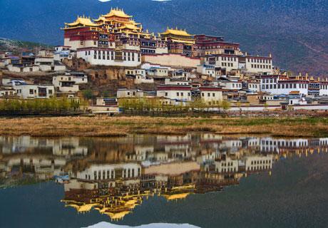 Tibetan lamasery, Songzanlin Lamasery