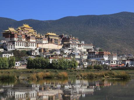 le monastère Songzanlin