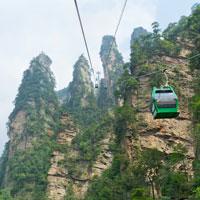 Tianzishan Cable car